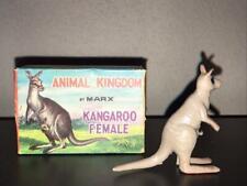 Female Kangaroo -   Marx Animal Kingdom with Original Box (1962)