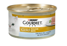 Purina Gourmet Gold  Ocean Fish Packet Cat Pet Food 2x85g