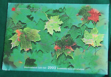 2003 Canada Prooflike PL Coronation (brilliant uncirculated) set