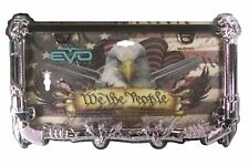 """We The People"" USA Eagle Guns License Plate Tag Frame for Car-Truck-Van-SUV"