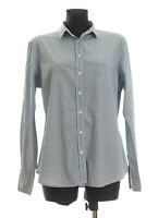 GANT Women's Blue striped long sleeved Casual Shirt Size 18