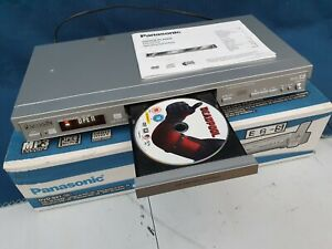 Panasonic DVD CD Player Model DVDS27 on Original Box with Instructions