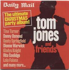 TOM JONES & FRIENDS: ULTIMATE CHRISTMAS PARTY ALBUM - UK PROMO CD (2005) DUETS