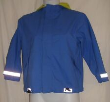 Girl's Hanna Andersson Size 120 (6-8 years) Blue Hooded Jacket