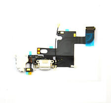 White audio charger connector charging port flex cable iphone 6 4.7 Replacement