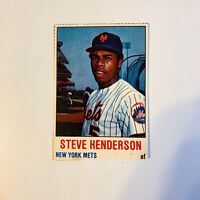 1978 Hostess Steve Henderson # 126 New York Mets NY MLB Baseball Card Hand Cut