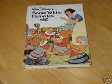 DISNEY'S SNOW WHITE FAVORITES-1973 COLLECTIBLE BOOK