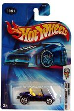 2003 Hot Wheels #51 First Edition #39 Meyers Manx 0714c card