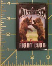 Alaska Magnet - Cute ! Alaska Fight club Magnet 2 Bears Fighting