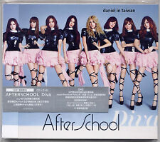 After School: Diva (2011) Japan / CD & DVD & CARD VERSION B TAIWAN