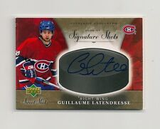 2006-07 Upper Deck Sweet Shot Signature Shots SS-GL Latendresse Auto