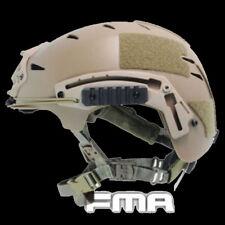 FMA Tactical High Quality FMA EXF BUMP Helmet TB742-DE For Airsoft CS Protective