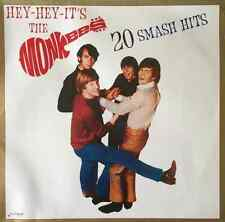 THE MONKEES - Hey-Hey-It's The Monkees: 20 Smash Hits (LP) (VG+/G-VG)