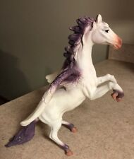 "2006 Toy Major Trading Co. 13"" Rubber Pegasus Glitter Beautiful"