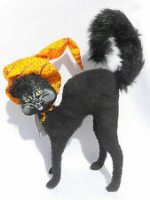 Annalee 12 Inch Scaredy Cat Halloween Decoration