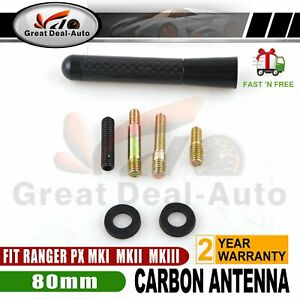 ANTENNA / AERIAL STUBBY BEE STING FOR FORD RANGER PX PX2 PX3 WILDTRAK XLT BLACK