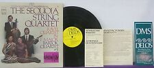 The SEQUOIA STRING QUARTET Bartock #3 DMS SOUNDSTREAM LP Classical RAVEL NM!!