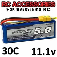 5000mAh Rechargable LiPo Battery Pack 11.1v 3s Cell 30C-40c RC quad copter UK