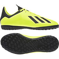 Adidas Kids Shoes Boys Soccer X Tango 18.4 Turf Boots Football Futsal DB2435 New
