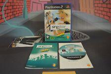 Singstar Pop Hits 40 Principales (Playstation 2 PS2 2007) Completo en caja