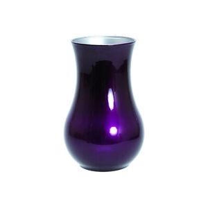 Luminarc Round Vase Home Gardening Accessory 20 x 10cm - Purple