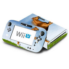 Skin Decal Cover for Nintendo Wii U Console & GamePad - Dancing Horse