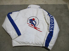 VINTAGE Ralph Lauren Polo USA Jacket Adult Medium Cookie Suicide Circle Ski 90s