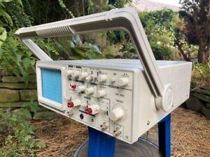 Rapid electronics 7020A 20MHz Analog oscilloscope & 1 x new 10X switch probe GWO