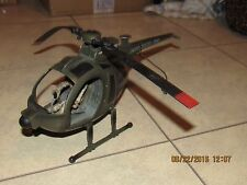"2005 BBI BLUE BOX US ARMY HELICOPTER FOR GI JOE 3.75""  - AS-IS!"
