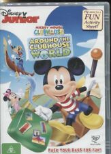 MICKEY MOUSE - AROUND THE CLUBHOUSE WORLD - PACK YOUR BAGS FOR FUN - DVD