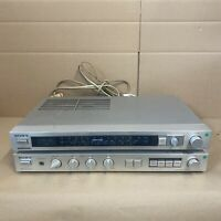 Sony TA-AX2 Integrated Stereo Amplifier with Phono Input & sony st-jx2l tuner