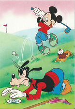 CPM - Disney carte postale - MICKEY & DINGO  - Postcard