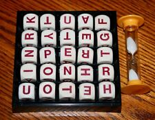 1979 PARKER BIG BOGGLE WORD GAME Cubes, Grid and Timer ONLY replacement parts