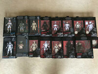 Star Wars Black Series Lot/Collection 15 Figures (Firsts/exclusives/rare/)