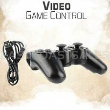 Black Wireless Bluetooth Game Controller For Sony PS3 Playstation 3 + Charger