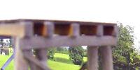Bridge beams 300mm HO Scale 5 pack