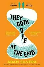 They Both Die at the End The UK No.1 bestseller! by Adam Silvera Free Shipping