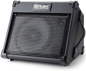 Acoustic Guitar Amplifier, 40 Watt Portable Rechargeable Amp for Guitar Acoustic