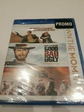 Butch Cassidy and Sundance Kid/ Good Bad The Ugly /Magnificent Seven Blu-ray New