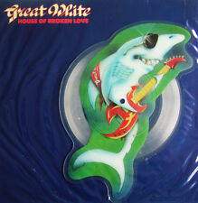 MINT! GREAT WHITE HOUSE OF BROKEN LOVE VINYL SHAPED PICTURE PIC DISC