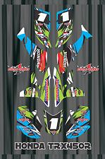TRX 450R graphics Honda 450 ATV sticker kit FREE Semi Custom Service LIGHTNING1