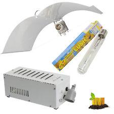 Adjust-a-Wing Reflector 600w Magnetic Ballast HPS Lamp Kit Hydroponics Flower
