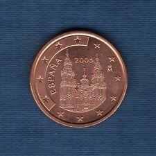 España - 2005 - 5 céntimos de euro - Pieza nueva de rodillo