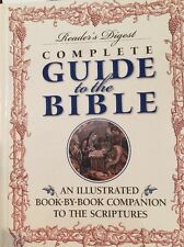✝✝ Readers Digest Complete GUIDE TO THE BIBLE 1998 illustrated book scripture