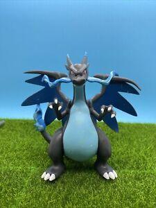 """Pokemon Moncolle Figure EX Mega Charizard X TAKARA TOMY 2015 5.5"""" 1:12 Scale"""