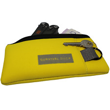 Neoprene Outdoor Wallet Pouch with Key Loop dry bag for kayaking boating cycling