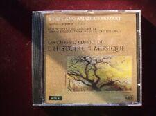 CD, Wolfgang Amadeus Mozart, Concertos pour piano
