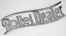 Vintage Rollei Dealer Metal Sign  .......... Minty / Very Rare !!