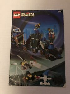 Lego Vintage 6497 Time Cruisers Twisted Time Train 99% Complet Notice