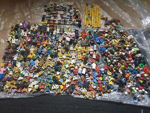 LEGO Collectable Minifigure Series & Accessories Bundle Job Lot Spares Parts 1KG